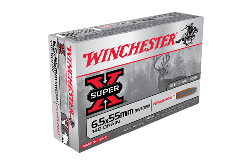 Winchester SuperX 6.5x55Swedish 140gr SP
