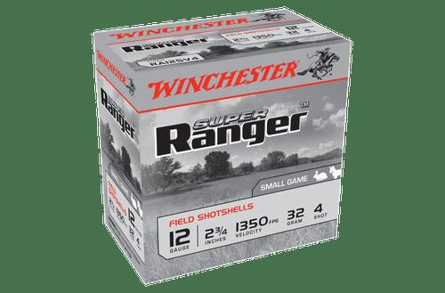 "Winchester Super Ranger 12G 4 2-3/4"" 32gm Slab"