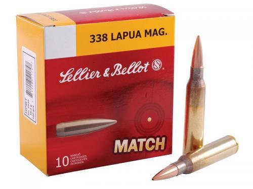 Sellier & Bellot 338Lapua 300gr HPBT