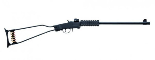 "Chiappa Little Badger Survival 22WMR 16.5"" Black"