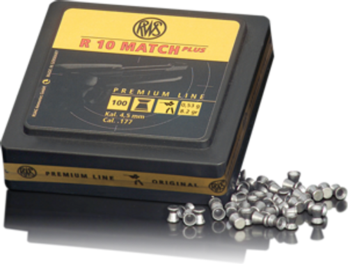 RWS Pellets R10 Match Plus HV 177 53g 100pk
