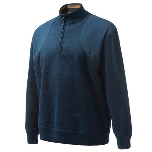 Beretta Half Zip Sweater Blue