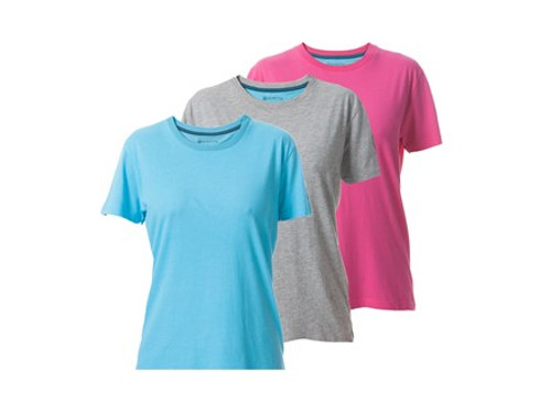 3 Victory Women's T-Shirt Sky/Coral/Grey