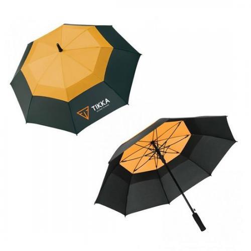 Tikka Umbrella Black & Orange