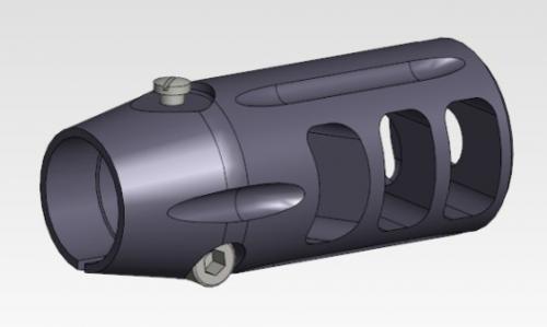 T3 CTR 30Cal Muzzle Brake