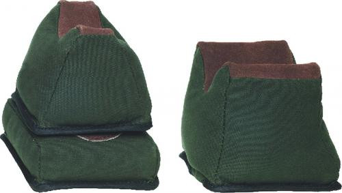 Bench Rest Bag 3pc Canvas/Leather