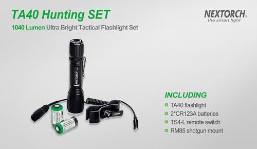 TA40 Hunting Set 1040 Lumens