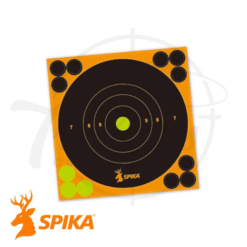 "Spika Shotview Targets 9"" 15 Sheets"