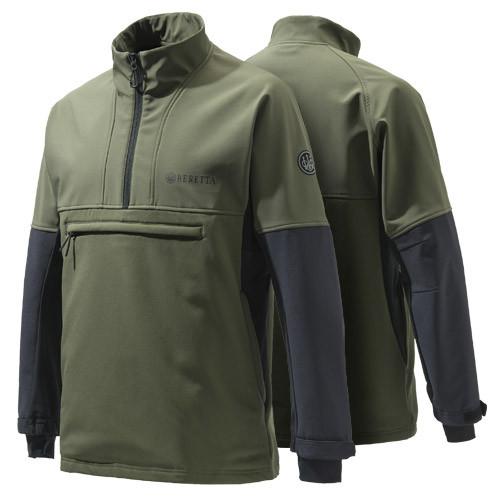 Hybrid Fleece Green