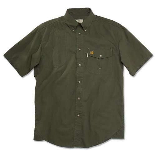 Beretta Short Sleeve Shooting Shirt Green