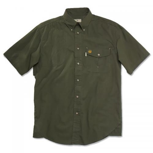 Beretta Short Sleeve Shooting Shirt Green