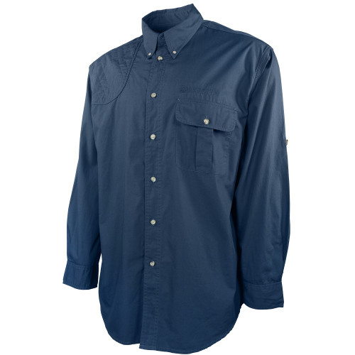 TM Shooting Shirt Long Sleeve Blue Total Eclipse