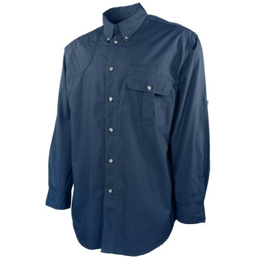 TM Shooting Shirt Long Sleeve Blue Total Eclipse