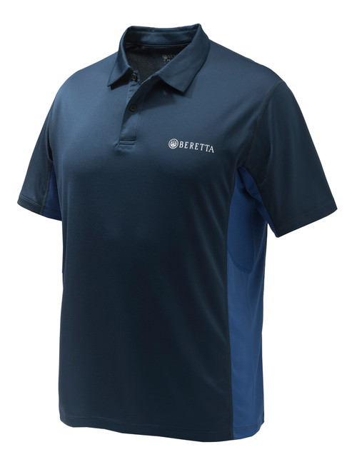 Flash Tech Polo Blue Total Eclipse