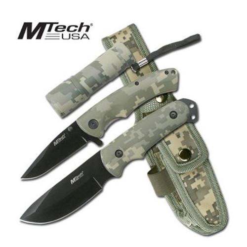MTech Knife Set + LED Light