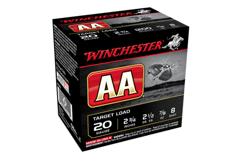 """Winchester AA Target 20G 8 2-3/4"""" 24gm"""