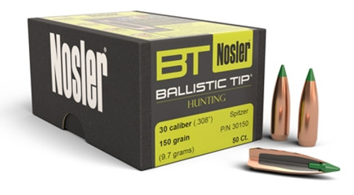 Nosler 308 150gr Ballistic Tip 50pk