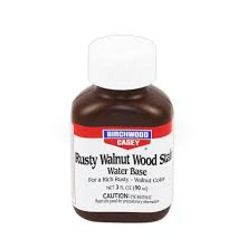 Rusty Walnut Wood Stain 3oz Birchwood Casey