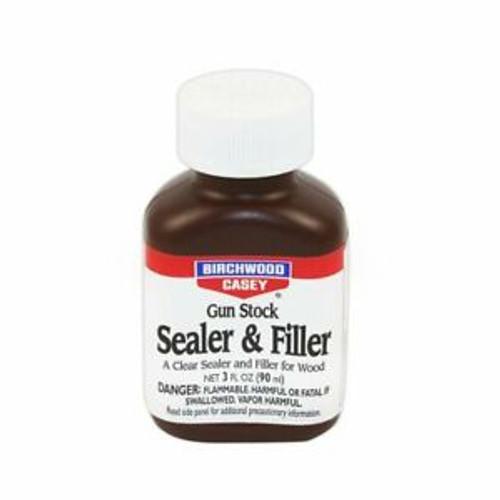 Gun Stock Clear Sealer & Filler 3oz Birchwood Casey