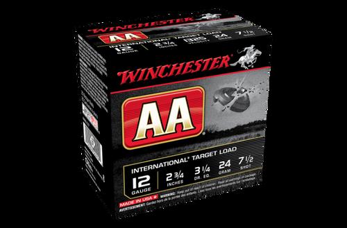 """Winchester AA International 12G 7.5 2-3/4"""" 24gm"""