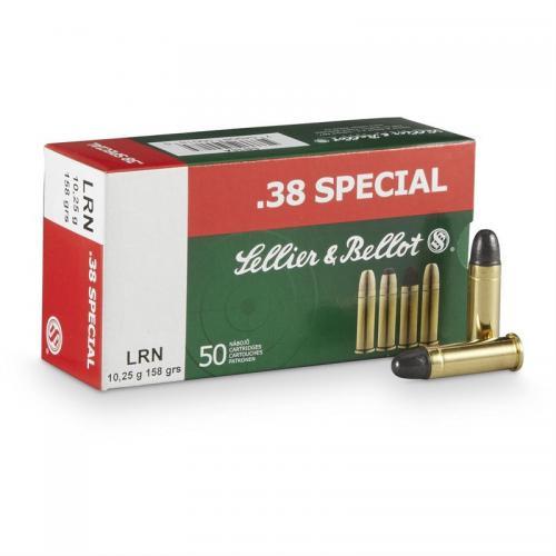 Sellier & Bellot 357MAGNUM 158gr SP 150pk