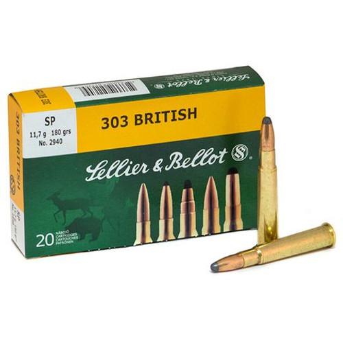 Sellier & Bellot 303BRITISH 180gr SP