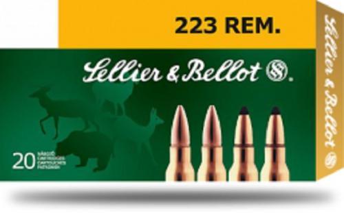 Sellier & Bellot 223REM 55gr SP