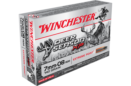 Winchester Deer Season 7MM-08 140gr XP