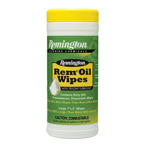 Rem Oil Pop-Up Wipes 60pk