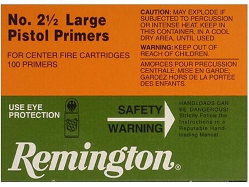 Remington Large Pistol Primers No. 2 1/2