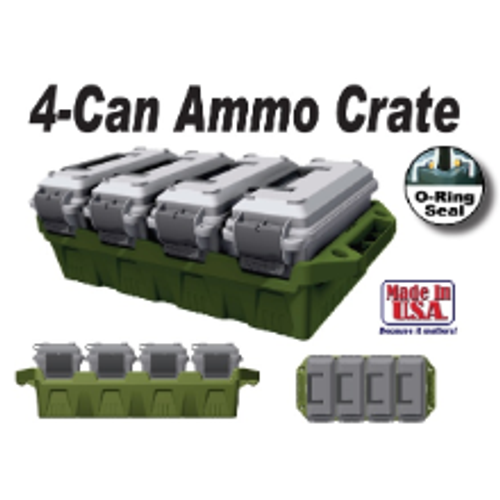 MTM 4 Can Ammo Crate