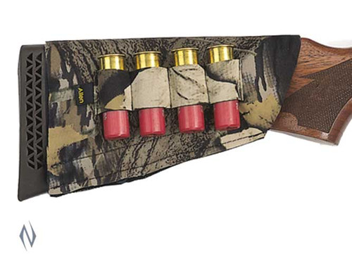 Allen Shotgun Buttstock 4 Shell Holder Camo