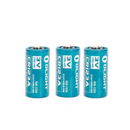 CR123A Battery 1600mAh