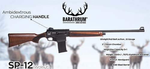 Barathrum SP-12 30 Walnut Mag Fed