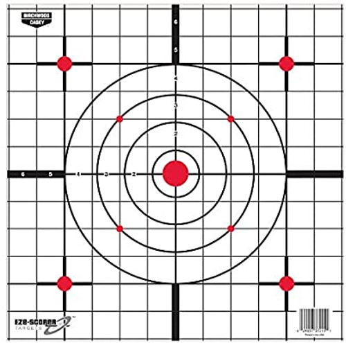 "Birchwood Casey Eze-Scorer 12"" Sight In 5pk"