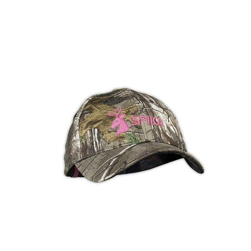 Spika Cap - Camo/Pink