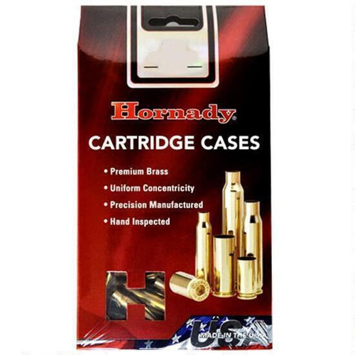 Hornady Unprimed Brass Case 50pk
