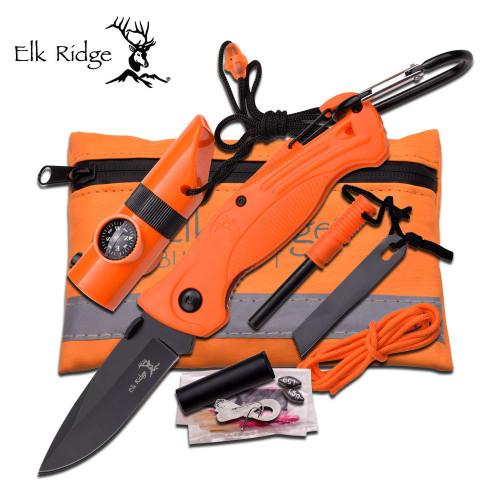 Elk Ridge Hi-Vis Survival Kit