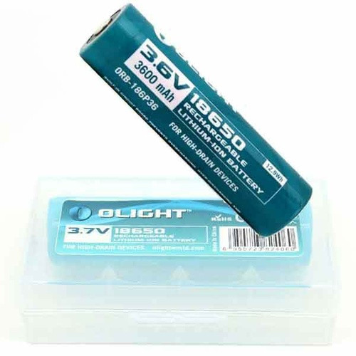 18650 Rechargeable Torch Battery 3600mAh