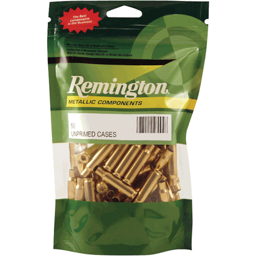 Remington Unprimed Brass 100pk