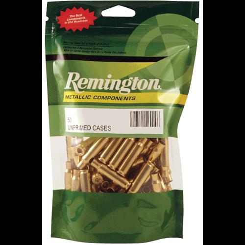 Remington Unprimed Brass 50pk