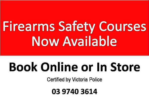 Firearm Safety Course Online Booking