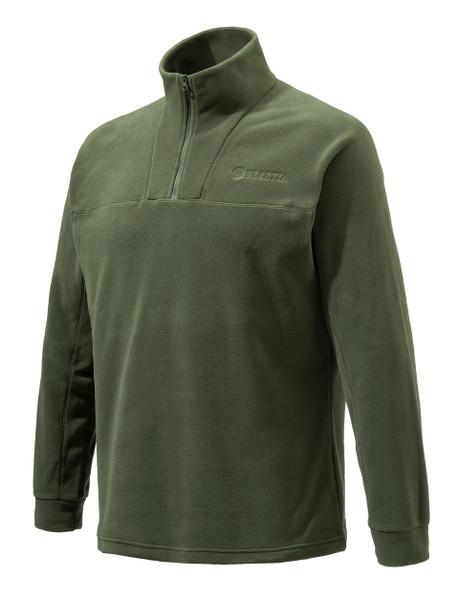 Beretta Half Zip Fleece Green