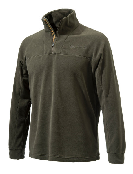 Beretta Half Zip Fleece Brown