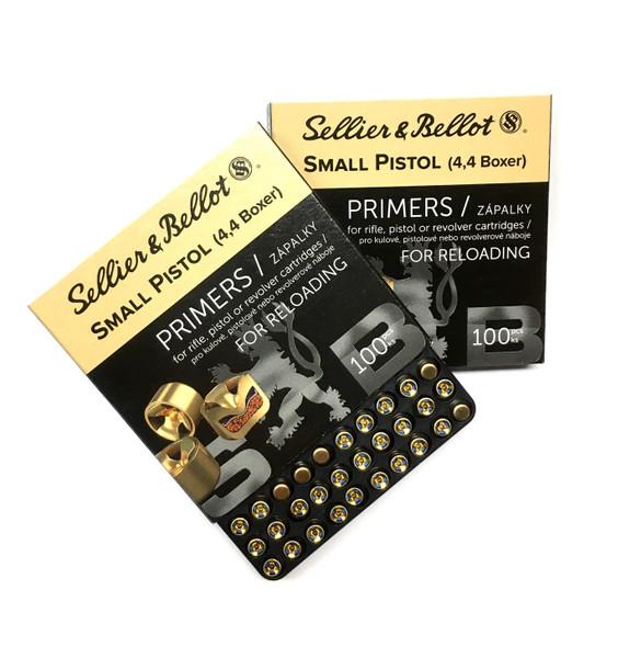 Sellier & Bellot Small Pistol Primer 4.4 SP Boxer
