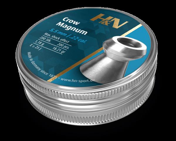HN Crow Magnum 22 5,5mm 18.21gr 200 Tin