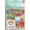 Coloring Scrapbook Embellishment by Jolee's Boutique