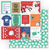 Living the Quarantine Life Collection Covidiot 12 x 12 Double-Sided Scrapbook Paper by Photo Play Paper