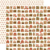 Hello Autumn Collection Harvest Crates 12 x 12 Double-Sided Scrapbook Paper by Carta Bella