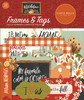 Hello Autumn Collection Frames & Tags Die Cut Scrapbook Embellishments by Carta Bella